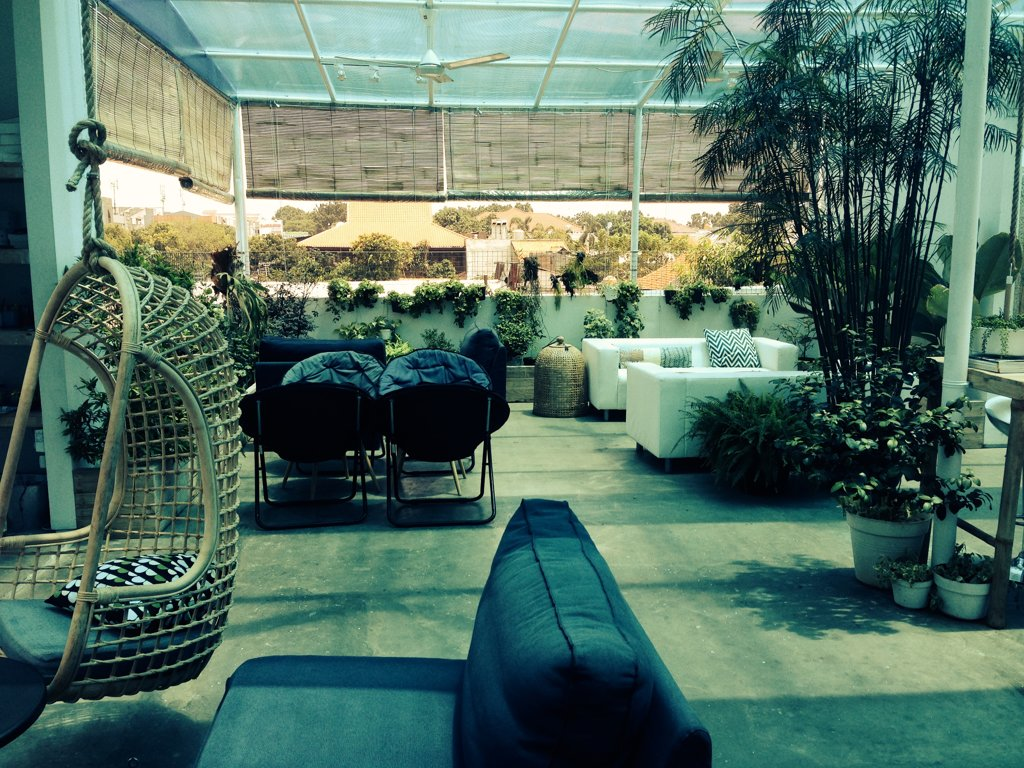 Selamatpagi Blog A Rooftop Terrace In Cipete
